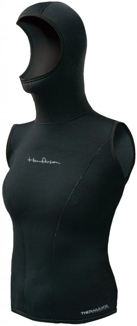 Thermaxx women hooded vest - 5/3mm - 8