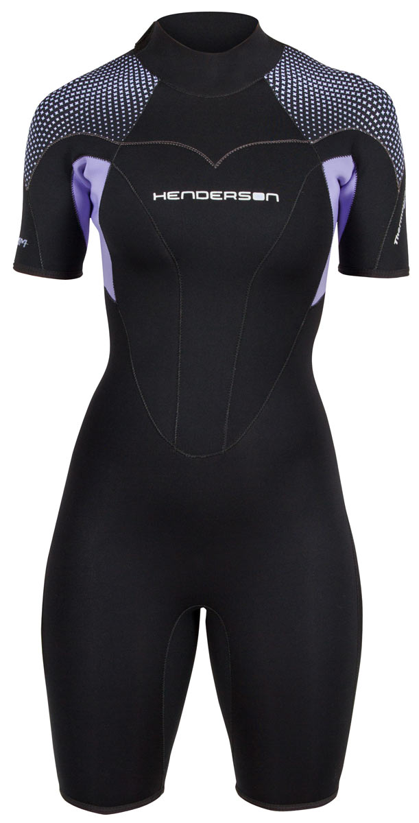 Thermoprene PRO shorty back zip woman