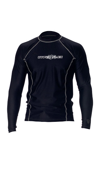 LOOSE FIT MEN'S LONG SLEEVE RASH GUARD