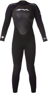 CYCLONE WOMEN'S 4/3MM GBS FULLSUIT
