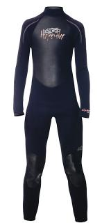 CYCLONE 3/2MM JUNIOR FULLSUIT